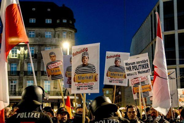 CAOS GERMANIA, TRA LOCKDOWN E PROTESTE.